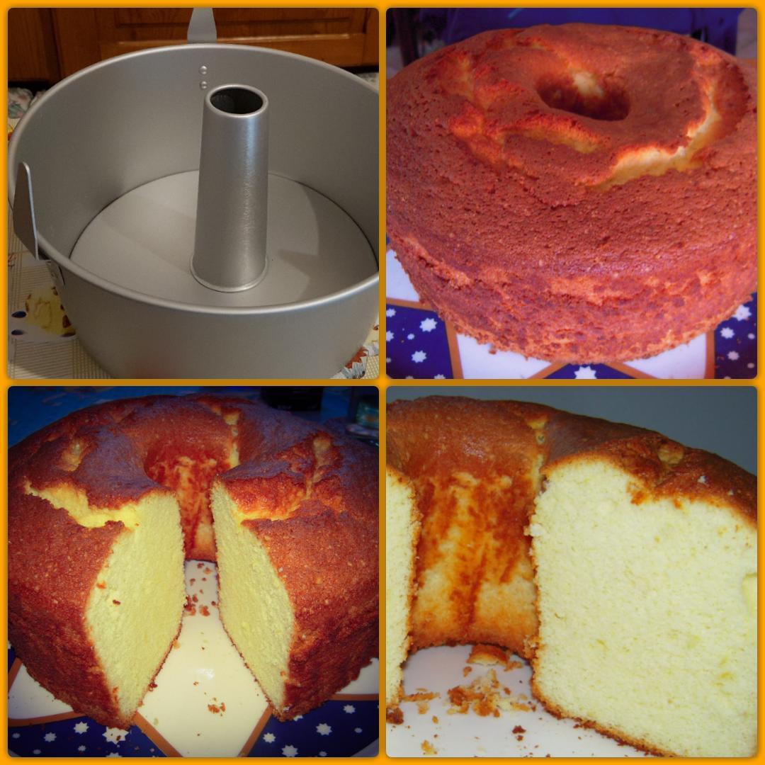 Lo stampo e la torta...